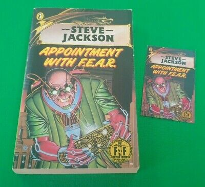 AU30.58 • Buy Appointment With F.E.A.R. ***Nr MINT BLACK DRAGON!*** Fighting Fantasy Puffin #9