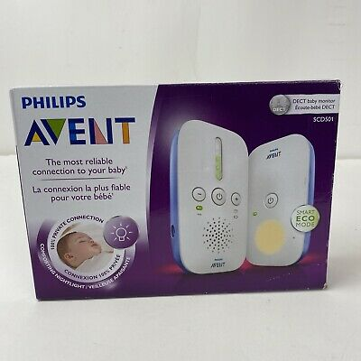 AU37.45 • Buy Philips Avent DECT Baby Monitor SCD 501