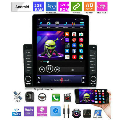 $199.70 • Buy Bluetooth Touch Screen Rotating Screen Car Stereo Radio Player GPS Navigation