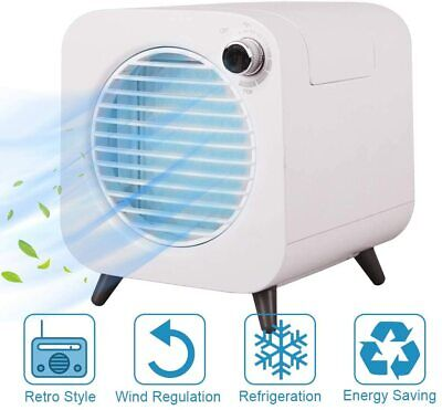 AU22.99 • Buy MindSpoon Portable Mini Air Cooler Fan USB Conditioner Cooling Fan Humidifier
