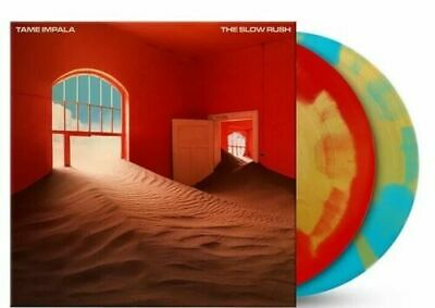 TAME IMPALA ~ The Slow Rush ~ RED/BLUE/GOLD SPLATTER SPLODGE Coloured Vinyl 2LP  • 85.99£