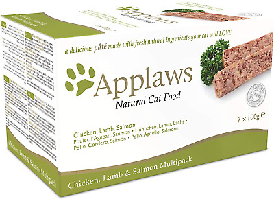 Applaws Cat Food Pate Multipack Fresh Selection 7x100g • 12.99£