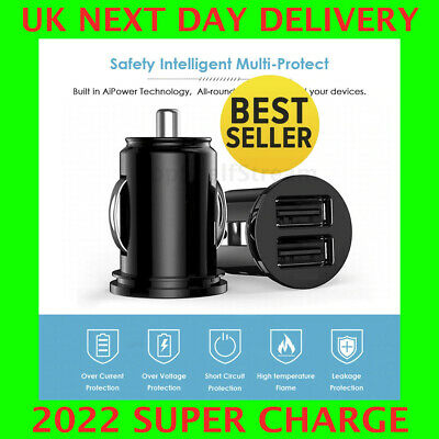 £3.99 • Buy Fast Car Charger USB Cigarette Lighter Socket Dual Adapter For IPhone Samsung
