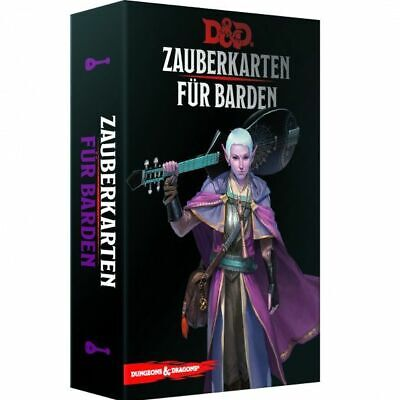 AU54.60 • Buy Dungeons & Dragons Magic Cards For Bard (German) Cards Spell D & D Bard