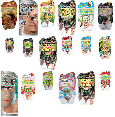 £3.95 • Buy Montagne Jeunesse 7th Heaven Skin Face Masks Beauty Peel Off Masks Free Delivery