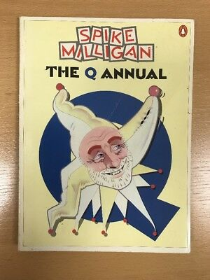 SPIKE MILLIGAN Rare Softbound  Book,THE Q ANNUAL • 5£