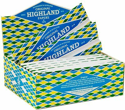 Highland Double Decadence Premium Rolling Kingsize Papers - 1/2/5/10/20 • 21.99£