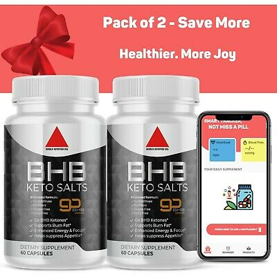 $18.90 • Buy Premium Keto Diet Pills Utilize Belly Fat For Energy With Ketosis Boost Energy