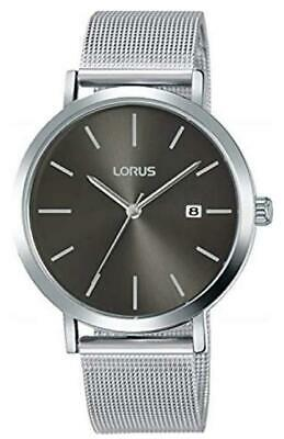 Gents Watch With Stainless Steel Mesh Bracelet & Grey Dial By Lorus RH919KX9 • 14.06£