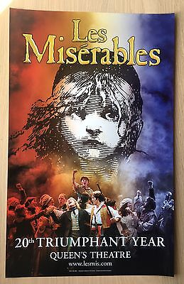 £10 • Buy WestEnd Promo Poster Les Miserables *rare*