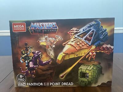 $30 • Buy Mega Construx Masters Of The Universe Panthor At Point Dread Building Toy Set