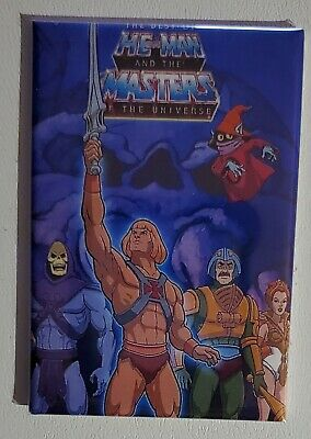 $4.99 • Buy He Man Masters Of The Universe TV Cartoon Magnet 2  X 3