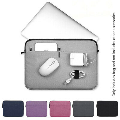 AU16.93 • Buy Sleeve Case Bag For MacBook Air Pro Lenovo HP Dell Asus 11 13 14 15 Inch Cover