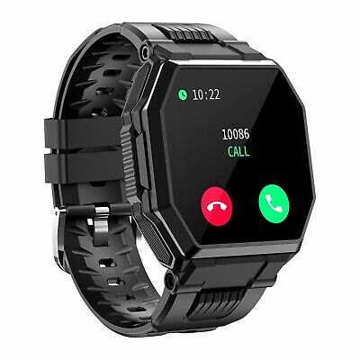 AU46.89 • Buy Bluetooth Call Smart Watch Heart Rate Blood Pressure Monitor Fitness Tracker AU
