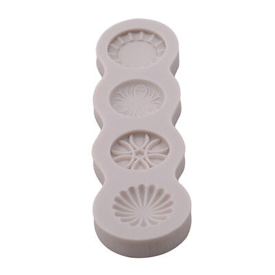 Brooch Jewelry Silicone Cake Fondant Mold Cupcake Decor Chocolate Mould Y3 • 4.67£