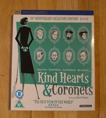 Kind Hearts And Coronets 70th Anniversary Collector's Edition Blu-ray • 15.99£