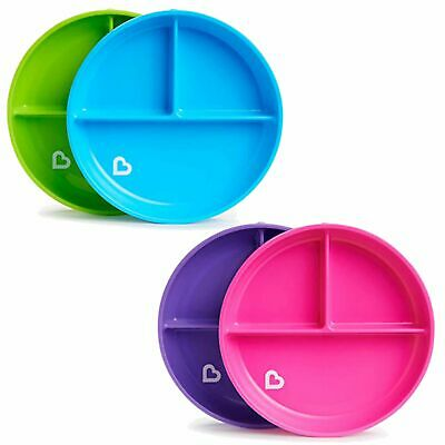 £8.85 • Buy Munchkin Baby Toddler Stay Put Divided Suction Feeding Meal Plate 6m+