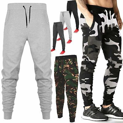 £9.99 • Buy Mens Slim Fit Skinny Jogging Bottom Tracksuit Joggers Trousers Stretchy Gym Pant