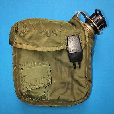$ CDN18.76 • Buy 2 Quart COLLAPSIBLE Bladder Canteen With Cover - US Army Military 2 QT C7