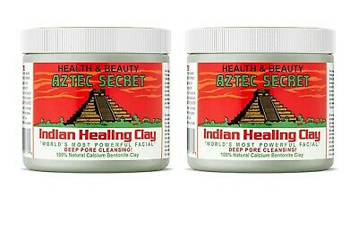 AU39.15 • Buy Aztec Secret Indian Healing Deep Pore Cleansing Clay - 16oz (2 Containers)