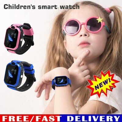 AU69.96 • Buy 4G Anti-lost Kids Safe GPS Tracker SOS Call GSM Smart Watch Phone For Child Kids