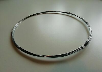 £6 • Buy 3 Metre Length (9ft 10 ) ROSLAU Finest German Polished Piano Wire & Spring Steel
