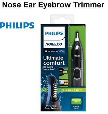 AU22.10 • Buy Philips Nose Ear Eyebrow Hair Trimmer Shaver Cordless Mens Grooming Facial Hair