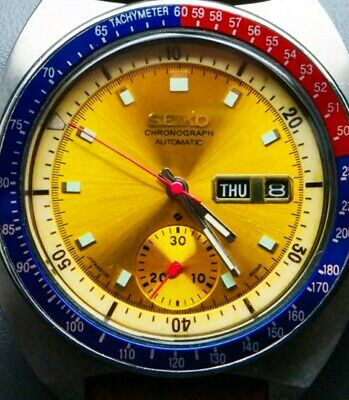 $ CDN957.15 • Buy Mint Seiko Watch 6139 6002 Pogue Gold Dial Authentic Just Serviced Working Great