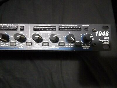 AU500 • Buy DBX 1046 Quad Compressor / Limiter