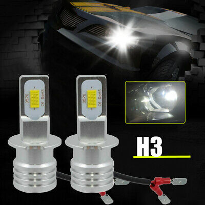 AU15.47 • Buy 6500K H3 Car LED Fog Light Headlight Bulbs Driving Lamp Kit DRL White High Power