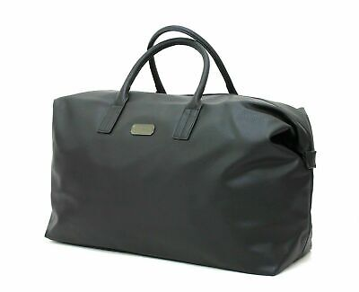 Aramis Black Faux Leather Holdall/ Travel / Overnight/ Weekend Bag * New • 26.99£