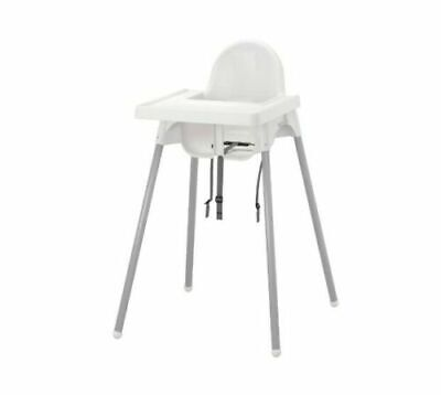 ANTILOP Baby High Chairs With Tray Adjustable Highchair Feeding Dining Table • 30.39£