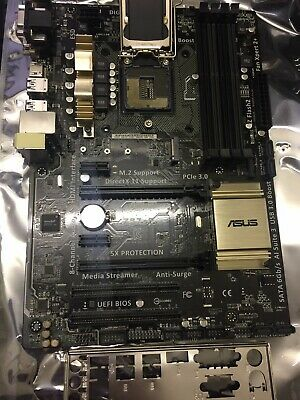 AU178 • Buy Asus Z97-P Socket 1150 ATX Motherboard With I/O Shield, M.2 Support