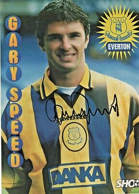 £12.99 • Buy Gary Speed (Everton) Signed Picture