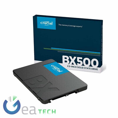 AU179.85 • Buy Crucial Hard Disk SSD BX500 480GB Up To 540 Mbs Condition Solid CT480BX500SSD1
