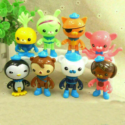 £4.99 • Buy 8pcs Set The Octonauts Figures Octo Crew Pack Playset PVC Action Figure Doll Toy