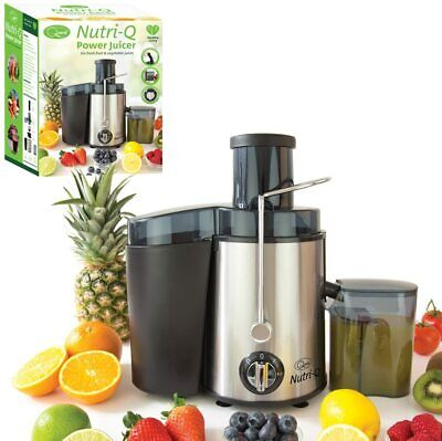 Nutri-Q Power Juicer Amazing For FRESH FRUIT And VEGETABLE JUICE • 39.95£