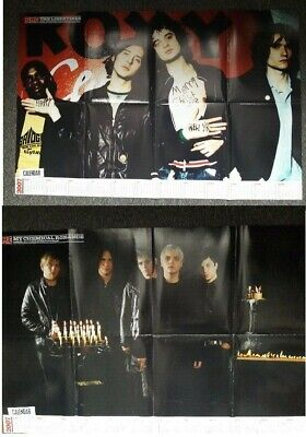 THE LIBERTINES - MY CHEMICAL ROMANCE - GLOSSY NME POSTER 60cm X 92cm • 2.99£