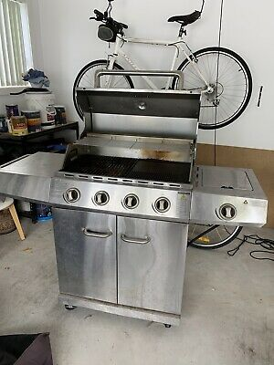 AU200 • Buy Jackaroo BBQ 4 Burners Plus Side Gas Plate