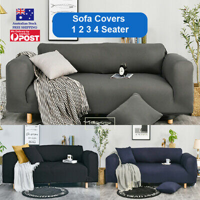 AU22.49 • Buy Sofa Cover Couch Covers 1 2 3 Seater Lounge Slipcover Protector Stretch AU Stock