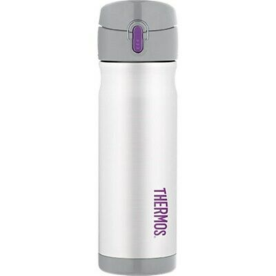 AU28.78 • Buy Genuine! THERMOS 470ml Stainless Steel Vacuum Insulated Commuter Bottle White!