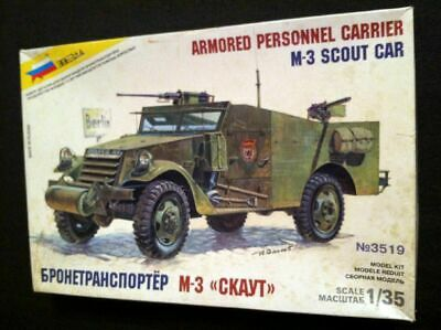 $45 • Buy Zvezda 1/35 3519 M-3 Russian US White Scout Car Armored Personnel Carrier Model