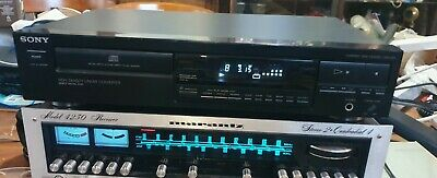 AU155 • Buy CD Player Sony CDP-297 Japan Compact Disc Disk Deck - With Remote
