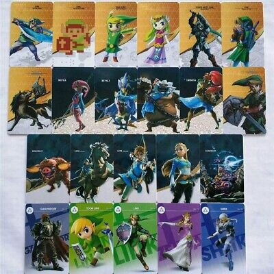AU37.92 • Buy  New 24 Pcs Legend Of Zelda BOTW NFC Game Cards For Nintendo Switch & Wiix U