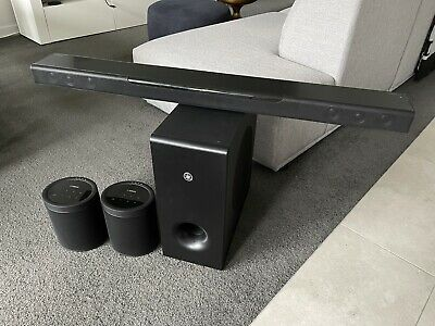 AU1100 • Buy Yamaha MusicCast 400 Soundbar + Subwoofer + MusicCast 20 Speakers *5.1 Surround*