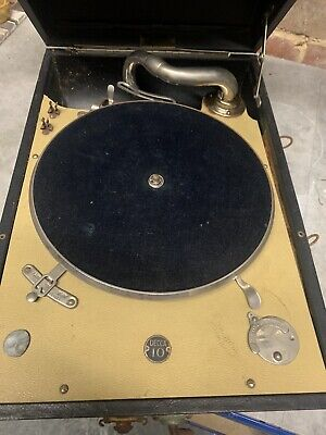 1930s Salon Decca Gramophone Model 10 - Vintage Collectable • 108£