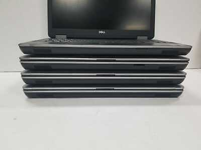$ CDN1518.60 • Buy Lot Of 4 DELL Latitude E6540 Core I7  15.6 In  - TESTED