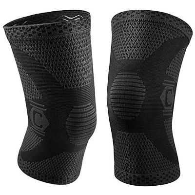$12.48 • Buy CAMBIVO 2 Pack Knee Compression Sleeve, Knee Brace Support For Men And Women,