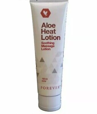 £11.89 • Buy Forever Living Aloe Heat Original Lotion Soothing Massage 118ml New