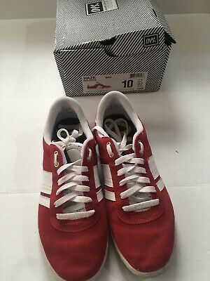 AU57.67 • Buy Dvs Shoes Haze Red Suede Size 10 Skateboard Rare With Box